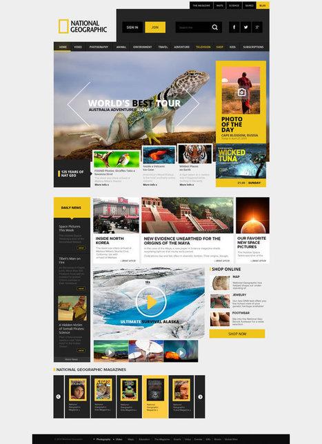 25 Popular Website Concept Redesigns | Design | Scoop.it