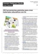 150 Herramientas Gratuitas Para Crear Materiales Educativos Didacticos Con Tic | EducationCommunication | Scoop.it