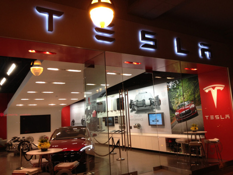 Auto dealers launch charm offensive against Tesla's direct sales | Digital-News on Scoop.it today | Scoop.it