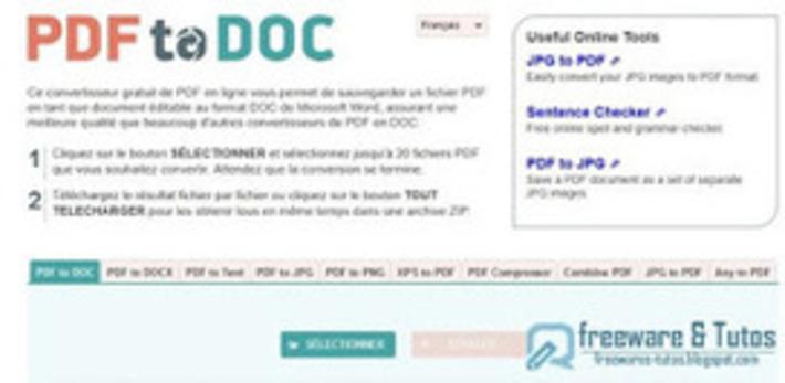 PDF2DOC : 10 outils en ligne pour le PDF | TIC et TICE mais... en français | Scoop.it