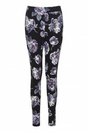 Floral Rose Print Crepe Trousers | Stylewise Direct | Women's Fashion Online | Scoop.it