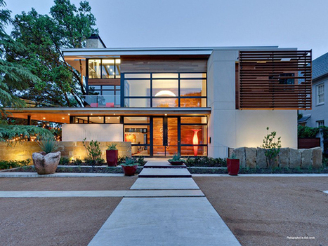 A Sustainable Home Blends into the Landscape... | sustainable architecture | Scoop.it