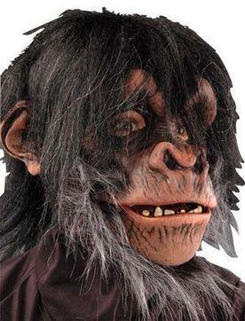 Маска пушистого шимпанзе   Карнавальный костюм для детей и взрослых!   Scoop.it