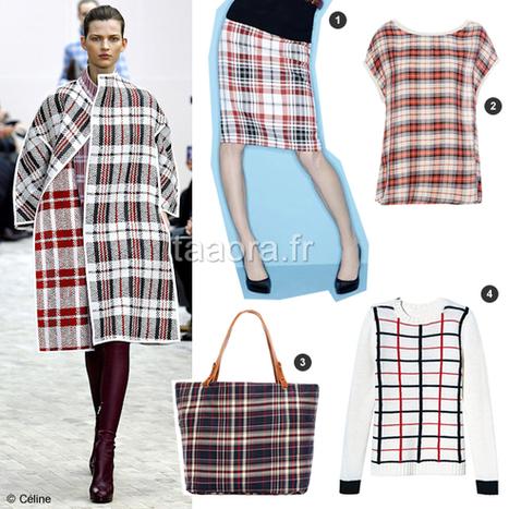 Tartan carreaux écossais, tendance mode Automne-Hiver 2013-2014 | mode | Scoop.it