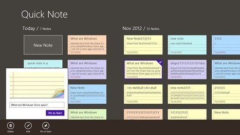 10 applications pour prendre des notes sur Windows 8.1 | TICE, Web 2.0, logiciels libres | Scoop.it