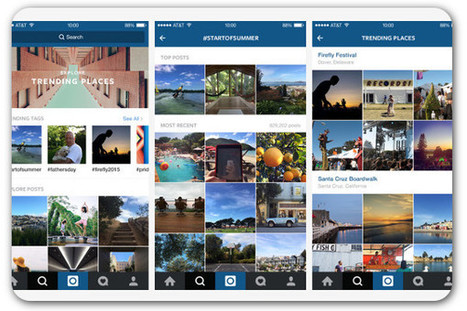 Instagram aims to be a social media destination for news | Multimedia Journalism | Scoop.it