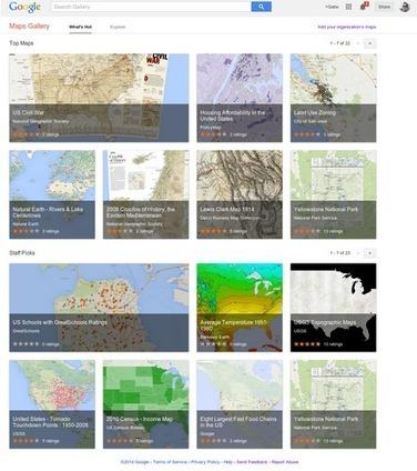 Lanzadas las galerías de mapas de Google para crear y acceder a mapas con contenidos de interés | Nuevas Geografías | Scoop.it