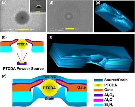 Organic semiconductor transistor made of a single nanoparticle achieves highest mobility yet | Amazing Science | Scoop.it