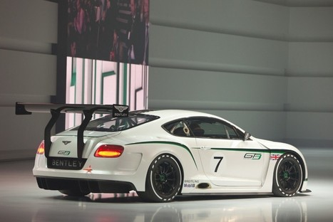 Bentley Continental GT3 Concept 2012 | Bikez | Scoop.it