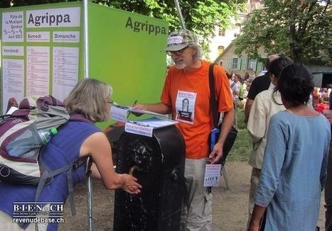 Suisse : Déjà 50.000 signatures de soutien au revenu de base | Innovation sociale | Scoop.it