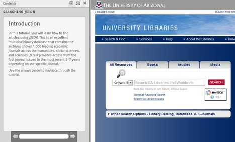 Searching JSTOR | The University of Arizona University Libraries | New-Tech Librarian | Scoop.it