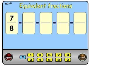 Maths - Fractions - Topmarks | sjm fractions | Scoop.it