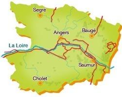 L'Anjou à vélo en Val de Loire - Balades thématiques ou itinéraires vélo à la carte | Balades, randonnées, activités de pleine nature | Scoop.it