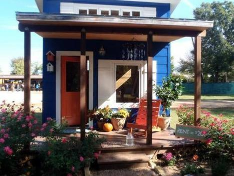 Homeless To Be Housed In Tiny House Village In Austin (VIDEO / PICS) | Sustainable Communities | Scoop.it