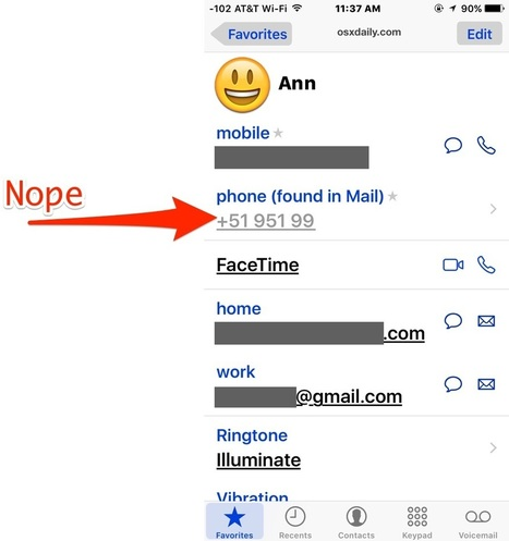 How to Disable Contacts Found in Mail in iOS - OSXDaily | iPads in Education | Scoop.it