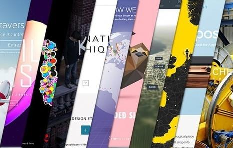 L'inspiration webdesign du mois #10 | #Graphisme #Webdesign #Communication #Publicité | Scoop.it