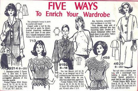 The Ideabook: Vintage Fashion and Feminism - Utne Reader | Feminist Education | Scoop.it