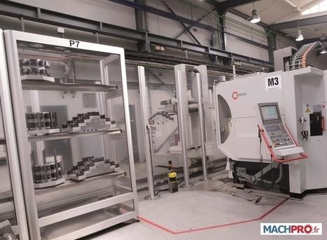 Erowa robotise pour gagner EROWA FRANCE - Rédaction de Machpro.fr, le premier site industriel | montages d'usinage | Scoop.it