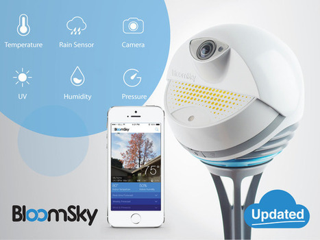 BloomSky: World's First Smart Weather Camera | Innovations objets connectés | Scoop.it