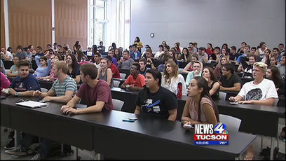 UA course examines fatherhood using gorillas | KVOA (TV-Channel 4 Tucson) | CALS in the News | Scoop.it