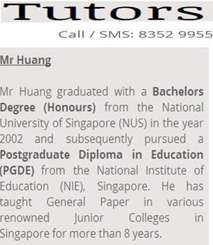 Tuition Singapore | Tuition Singapore | Scoop.it