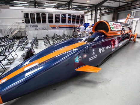 Inside the 3D-printed rocket car that travels 1,000 mph (pictures) - CNET | Technics | Scoop.it