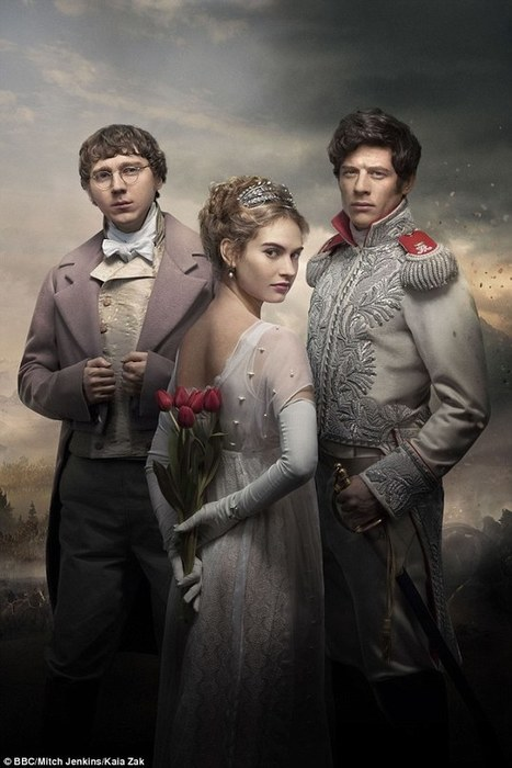BBC1 begins a sexed-up adaptation of War and Peace | Vloasis humor | Scoop.it
