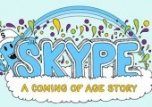 INFOGRAPHIC: The Origins Of Skype's Name And Other Milestones - Scribbal   Social sciences and social media   Scoop.it
