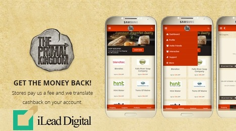 Primal Kingdom Cashback App Designed & Developed by iLead Digital | Affiliate Website CMS Design and Development | Scoop.it