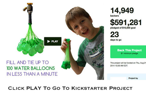 Crowdfunding Million Dollar Water Balloons @Curagami & @MajesticSEO | Marketing Revolution | Scoop.it
