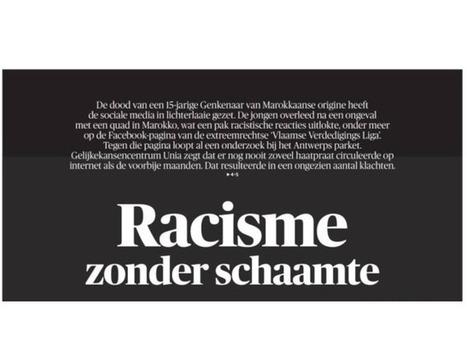 Lutter contre les commentaires racistes en les affichant en «une» de son journal | Archivance - Miscellanées | Scoop.it