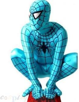 Full Body Azure Blue Spiderman Lycra Spandex Zentai Suit free shipping - wholesale Lycra Spandex Zentai Suits - wholesale Catsuits & Zentai - CosplayGate.Com | spiderman costume,spiderman costumes | Scoop.it