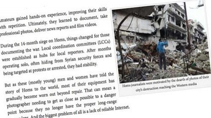 Un día en la vida de un periodista ciudadano en Homs | Periodismo Ciudadano | Periodismo Ciudadano | Scoop.it