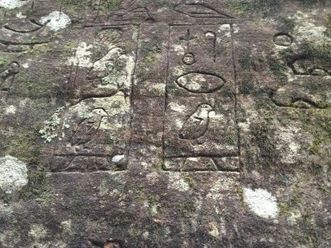 Des glyphes proto-égyptiens découverts en Australie pourraient réécrire l'histoire | Australie | Scoop.it