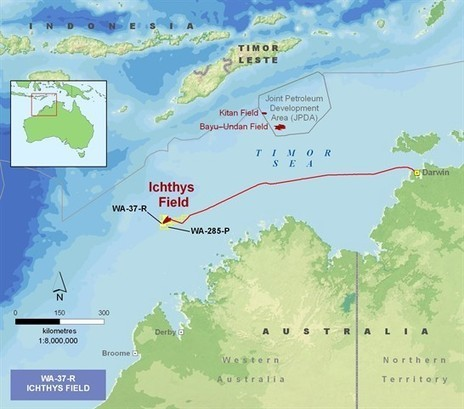 INPEX: About Ichthys   OH&S, Defence and I   Scoop.it