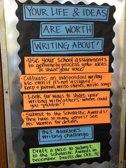 Inspiring Independent Writing in a Jam-Packed C... | Educational | Scoop.it