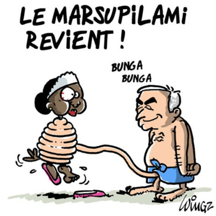 Le marsupilami revient | Baie d'humour | Scoop.it