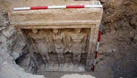 Graf van lijfarts van de farao's in Aboesir ontdekt | goossens levi geschiedenis | Scoop.it