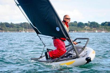 Le dériveur breton prix de l'innovation aux USA   Tiwal , the inflatable sailing dinghy made in France   Scoop.it