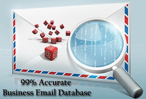 How useful is business email database? | Executive Database | Scoop.it