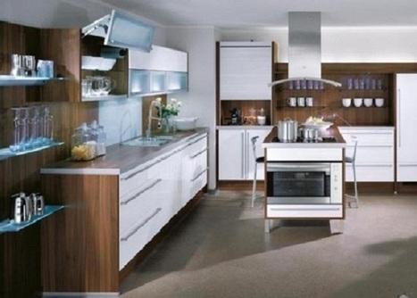 Stylish Compact Kitchen Interior Decorating Ideas   Rhinway- home design   Scoop.it