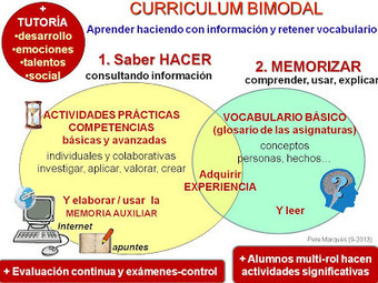 CHISPAS TIC Y EDUCACIÓN: Manual del currículum bimodal | web2.0ensapje | Scoop.it