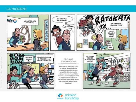 Marc&Andy, la BD de Bouygues qui décape l'image du handicap ! | Innovactions 2.0 | Scoop.it