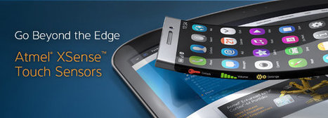 Atmel Unveils XSense Flexible Touch Sensors | CNXSoft – Embedded Software Development | Embedded Systems News | Scoop.it