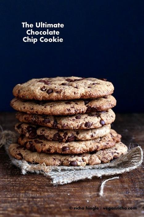 The Ultimate Chocolate Chip & Chunk Cookies. Vegan Recipe | Vegan Richa | My Vegan recipes | Scoop.it