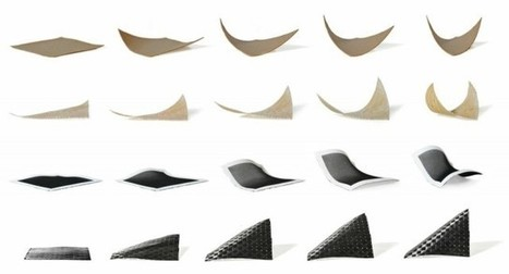 Self-Assembling Wood? Weather Activated Clothes? MIT says yes • Materia | Design | Scoop.it