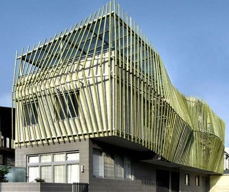Sustainable buildings created from bamboo | sustainable architecture | Scoop.it