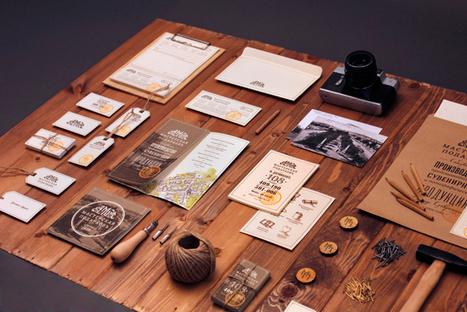 20 Spectacular Examples of Identity & Branding | Identité visuelle | Scoop.it