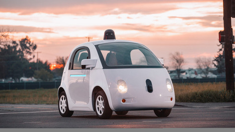 Google's new self-driving cars hit streets of Mountain View | Cartographie XY | Scoop.it