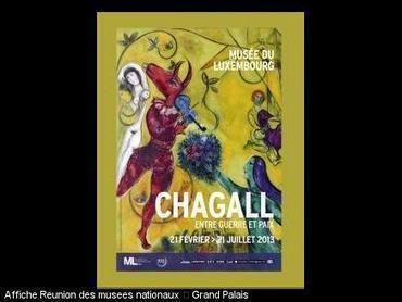 Expo Chagall dès aujourd'hui au Musée du Luxembourg | Annonce en France | Scoop.it